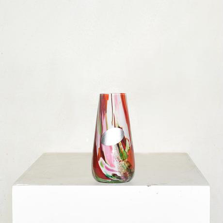 Marble Cylinder Flower Vase(W7×H14)/MULTI