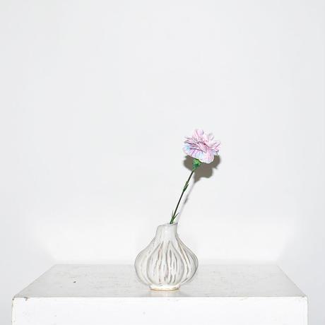 Ceramic Bulbs vase(W9×H9)/WHITE