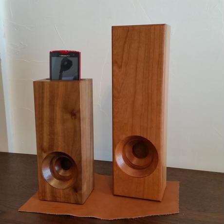 木製スマホスピーカー(小)