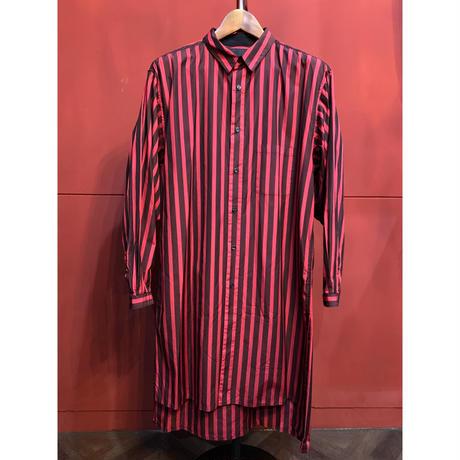 ys Yuji SUGENO/Striped Long Shirt