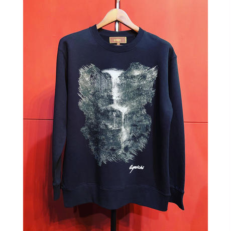 Bennu/Water Fall Pullover Sweat