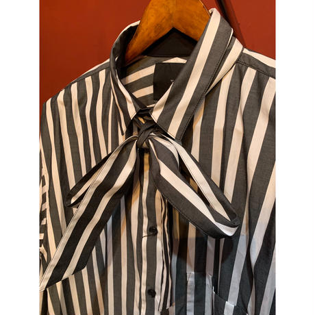 ys Yuji SUGENO/Striped Long Shirt