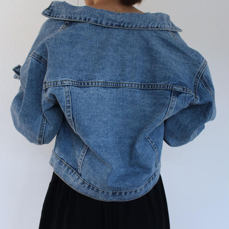Short denim jacket【ot001】
