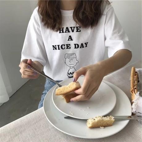 〔即納〕Nice day T-shirt