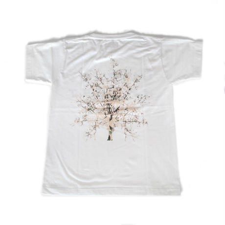 Flower T-shirts Ladys <WHITE>