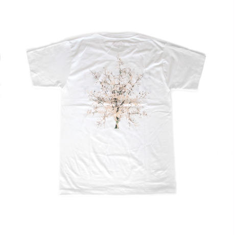 Flower T-shirts <WHITE>