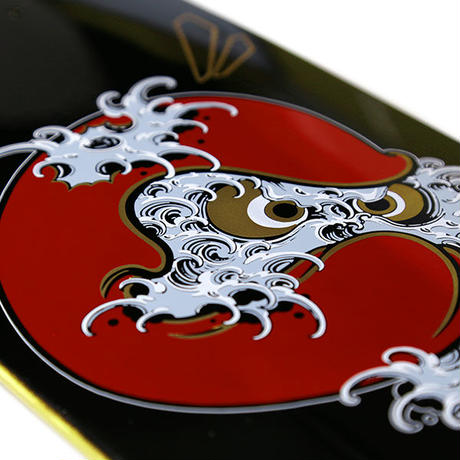 "HT-TN207002 / ""NAMIDARUMA"" URUSHI CRUISER DECK ft 4D7S art by Toshikazu Nozaka"