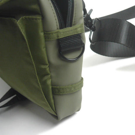 HT-G190001 / HYBRID SHOULDER BAG - OLIVE