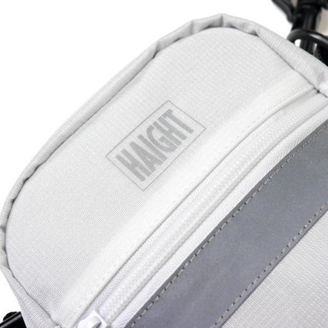 HT-G180001 / RIPSTOP SHOULDER POUCH - WHITE