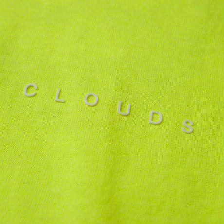 HT-W181004 / BIG CLOUDON L/S Tee - NEON YELLOW
