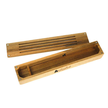 HT-G190003  / WOOD INCENSE HOLDER - NATURAL