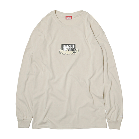 HT-W188003 / HAIGHT×CLEOFUS L/S Tee - SAND