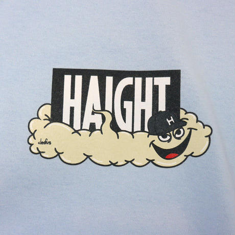 HT-W188003 / HAIGHT×CLEOFUS L/S Tee - LIGHT BLUE