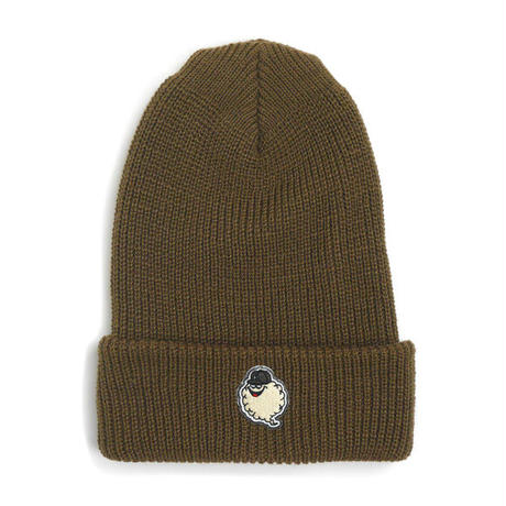 HT-W260001 / CLOUDON CUFF KNIT CAP - BROWN