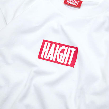 HT-W161001 / BOX LOGO TEE - WHITE