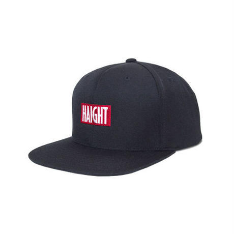 HT-W166002 / BOX LOGO SNAP BACK CAP - BLACK