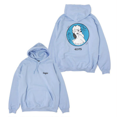 HT-W198005  / HONEY POT PULLOVER HOODIE ft 4D7S - LIGHT BLUE