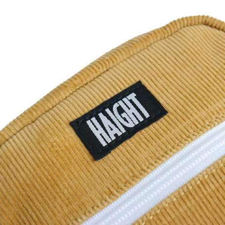 HT-G198002 / CORDUROY  SHOULDER POUCH ft 4D7S - LIGHT BROWN