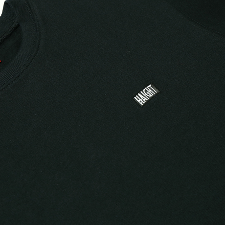 HT-W183003 / HEAVY WEIGHT CREW SWEAT - BLACK