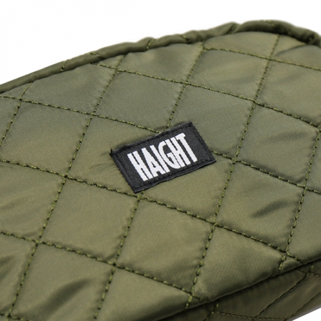 HT-G177003 / QUILTING POUCH / L - OLIVE