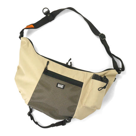 "HT-G200003 / BOAT SHOULDER BAG ""2nd"" - BEIGE"