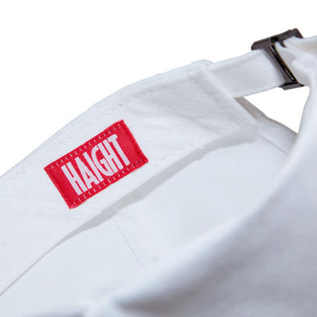 HT-W166001 / BOX LOGO BALL CAP - WHITE