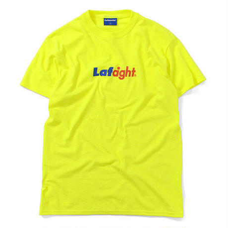 LE190102  / Lafayette x HAIGHT - Lafaight Logo S/S Tee - NEON YELLOW