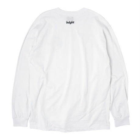 HT-W198004  / HONEY POT L/S Tee ft 4D7S - WHITE