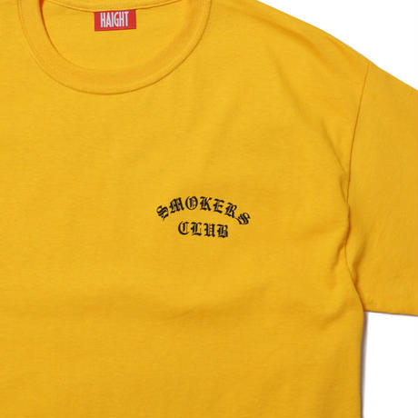 HT-W210002 / SMOKERS CLUB S/S Tee - GOLD