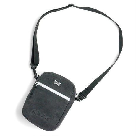 HT-G198002 / CORDUROY  SHOULDER POUCH ft 4D7S - CHARCOAL