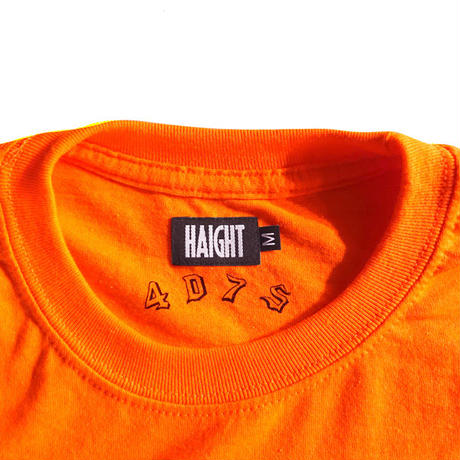 HT-W198004  / HONEY POT L/S Tee ft 4D7S - NEON ORANGE