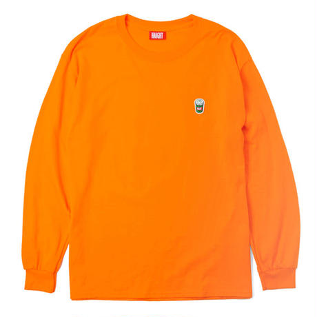 HT-CLF201002 / PILLCASE CLOUDON L/S Tee - NEON ORANGE