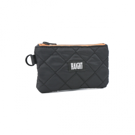 HT-G177004 / QUILTING POUCH / S - BLACK
