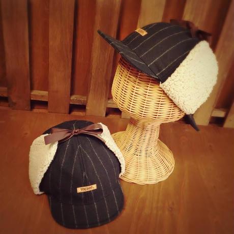 ディアストーカーハット(鹿撃ち帽・探偵帽)