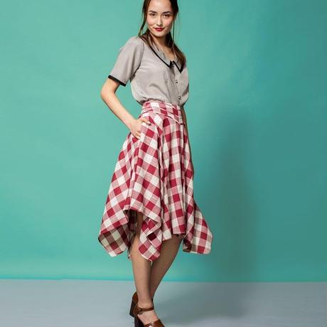 スカート レディース Alice's Pig アリスズピッグ Darcey's Django Skirt Red