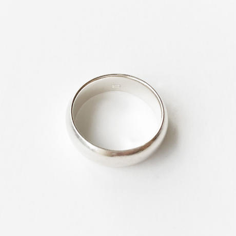 #12 silver simple ring
