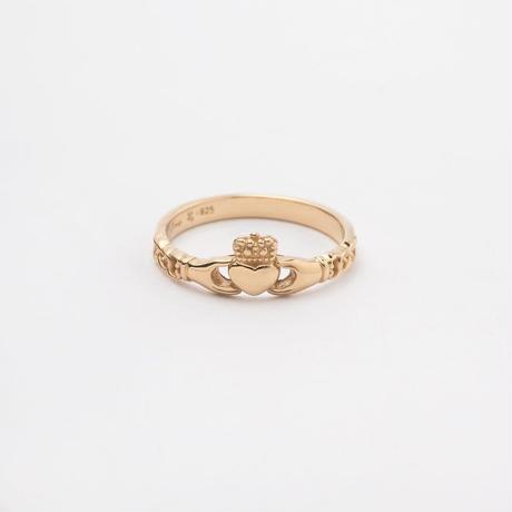 Lilac × o'my claddagh ring / gold