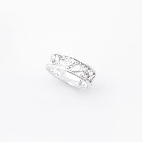 arabesque ring / silver
