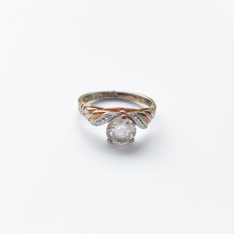 #11 14K HGE feminine ring