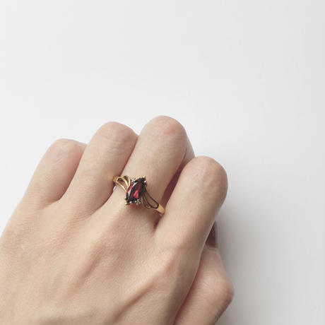 #19 marquise redstone ring