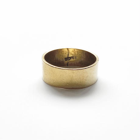 #14 18KGP band ring