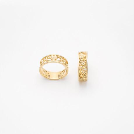 arabesque ring / gold