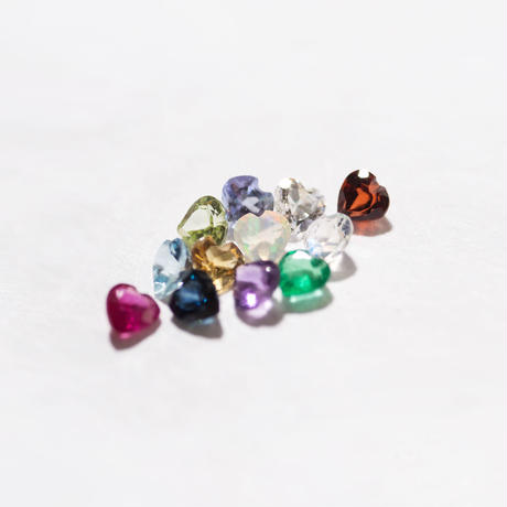 option / aquamarine・ruby・Tanzanite