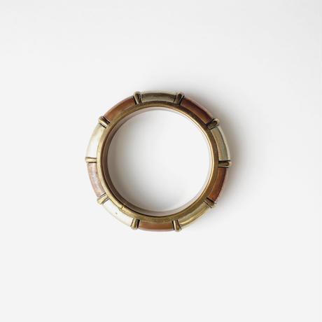 metal bicolor bangle
