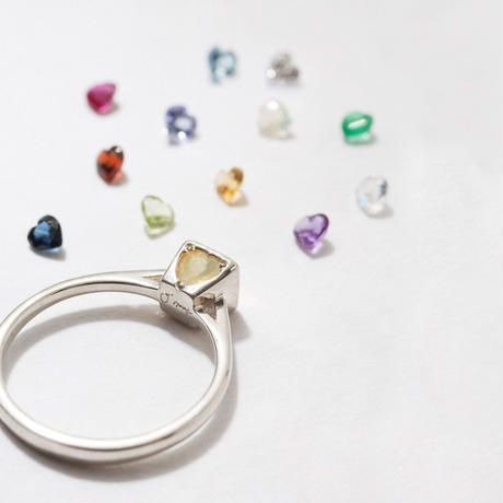 option / garnet・amethyst・zirconia・moonstone・peridot・citrine