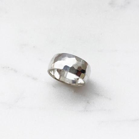 #12 silver volume ring