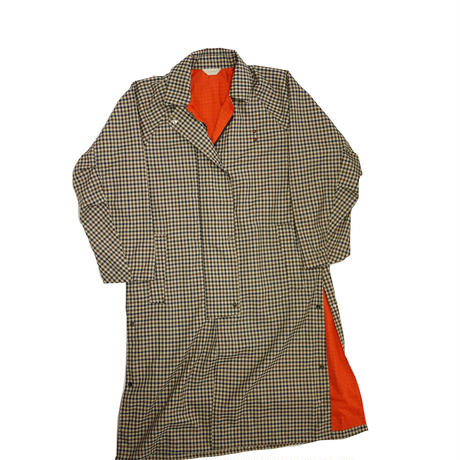 JieDa CHECK OVER COAT (GUN) Jie-20S-JK01