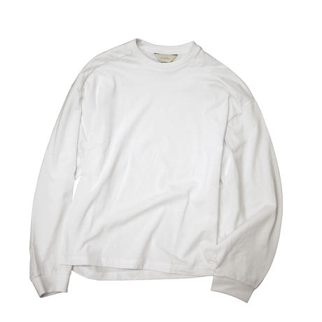"JieDa  L/S T-SHIRT ""FRUIT OF THE LOOM"" (WHT) Jie-20W-CT03"