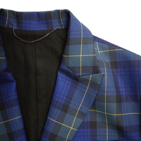 JieDa TARTAN CHECK TAILORED JACKET Jie-20W-JK05-B