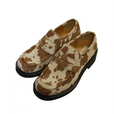 JieDa COW HAIR LOAFERS Jie-20W-GD01-D